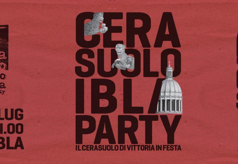 Cerasuolo Ibla Party