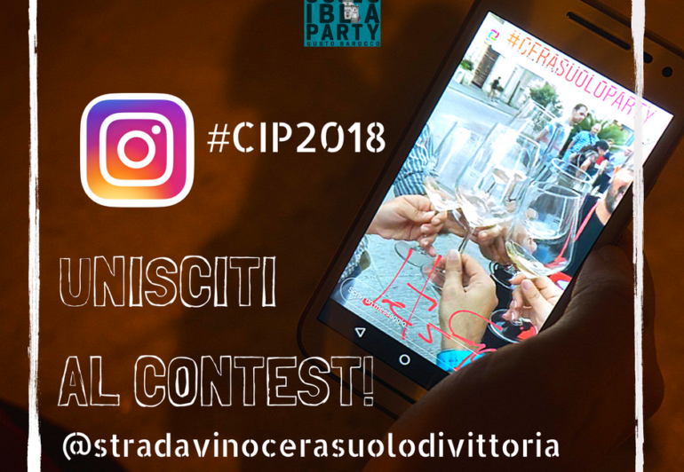 Cerasuolo Ibla party 2018 contest instagram