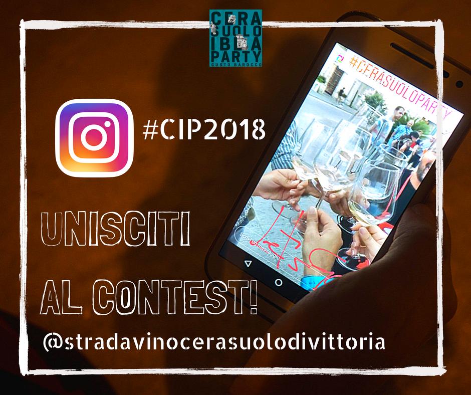 Cerasuolo Ibla party 2018 contest instagram
