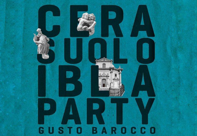 CERASUOLO IBLA party 2018 strada del vino cerasuolo di vittoria